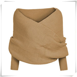 Sweaters - Unisex Warm Knit Scarf Sweater Shawl ONE SIZE